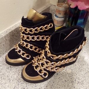 Jeffery Campbell chain shoes